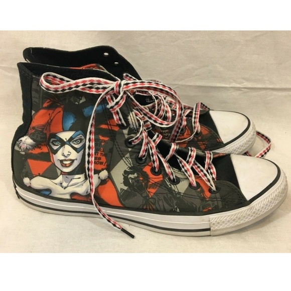 1066327365cd Converse Shoes - SPECIAL EDITION Converse All Star Harley Quinn